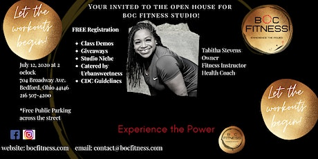 BOC Fitness Studio Opening Day!  New Studio infused with Gospel synergy tickets
