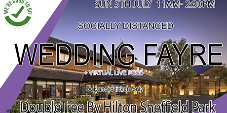 DoubleTree By Hilton Sheffield Park Socially Distanced Wedding Fayre tickets