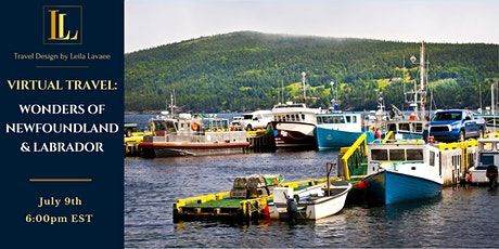 Virtual Travel Series: Wonders of Newfoundland & Labrador tickets