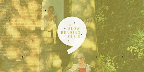 Slow Reading @Jardin Bibliothèque du Séminaire billets