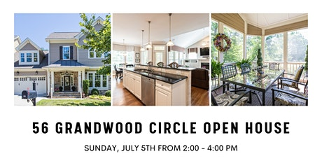 56 Grandwood Circle Open House tickets