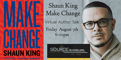 Make Change Book Release Tour  ~ Shaun King tickets