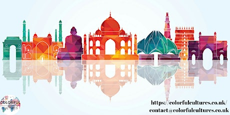 Colorful India Webinar billets