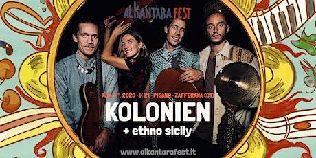 Alkantara fest - KOLONIEN / ETHNO SICILY biglietti