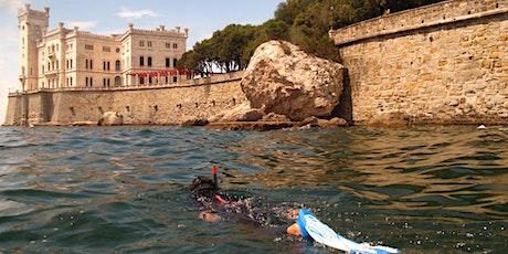 Scopri l'area Unesco di Miramare - Snorkeling sotto il castello biglietti