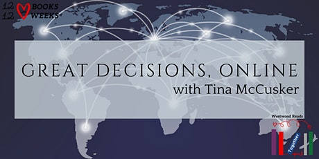 Great Decisions Online w/ Tina: U.S. Relations and the Northern Triangle tickets
