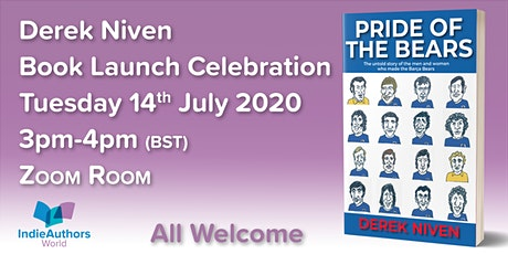 Derek Niven Book Launch Celebration tickets
