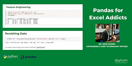 [Free] Pandas For Excel Addicts tickets