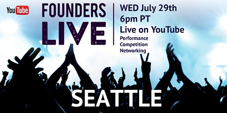 Founders Live Seattle - Virtual Experience tickets