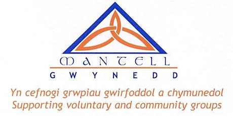 Rhwydwaith Llesiant a Gwirfoddoli y Trydydd Sector GWYNEDD Third Sector Wel tickets