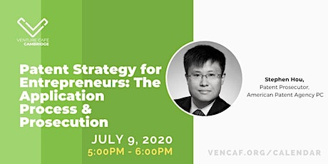 Patent Strategy  for Entrepreneurs: The Application Process & Prosecution tickets