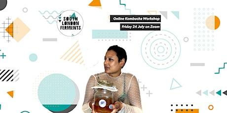 Online Kombucha Workshop tickets