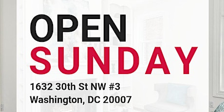 NEW LOW PRICE: Georgetown Open House Sunday tickets