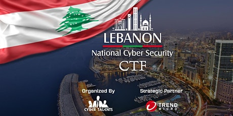 Lebanon National Cybersecurity CTF 2020 tickets