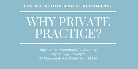 NE DPG Mini-Meeting: Why Private Practice tickets