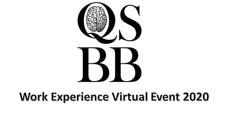 QSBB virtual work experience event 2020 tickets