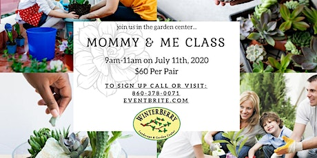 Mommy & Me Planting Class tickets