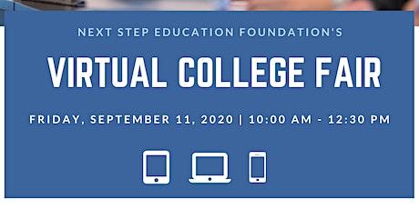 Next Step Education's 2020 Virtual College Fair tickets