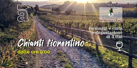 Chianti fiorentino - Trekking mattutino con degustazione in cantina biglietti