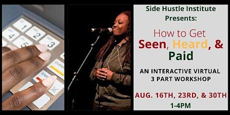 Side Hustle Institute tickets