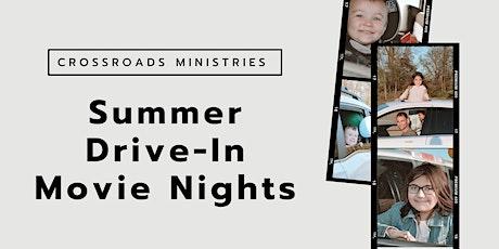 Summer Drive-In Movie Nights tickets