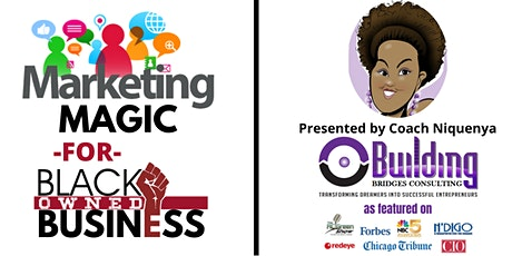 Marketing Magic for Black Owned Business tickets