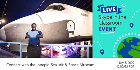 Journey to Space!  A FREE Virtual Field Trip to the Intrepid Museum tickets