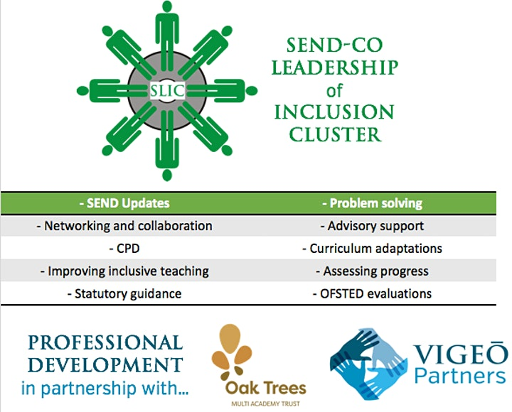 SLIC - SENDCO Leadership of Inclusion Cluster - Wirral image