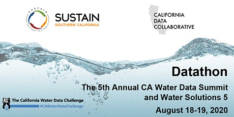 Datathon: The 5th Annual CA Water Data Summit and Water Solutions 5 tickets