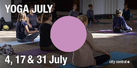 YOGA JULY with Yorah Yoga tickets