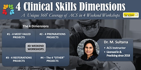 The 4 ACS Dimensions (Weekend Workshops) tickets