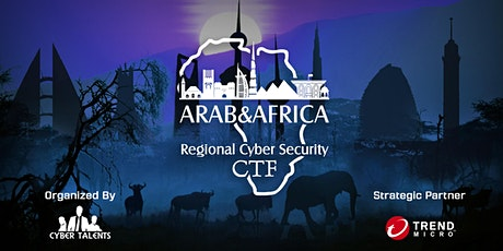 Arab and Africa Regional CTF 2020 tickets