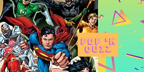 Pop 'n Quiz DC Comics billets