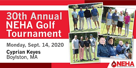 30th Annual NEHA Golf Tournament tickets