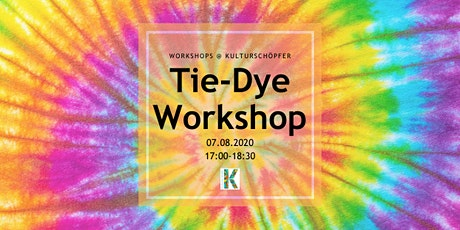 Tie-Dye Clothing Workshop Tickets
