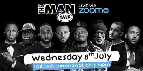 The Man Talk - live via Zoom (Black lives still matter) tickets