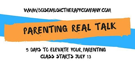 5 Days to Elevate Your Parenting tickets