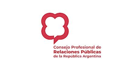 ASAMBLEA ANUAL ORDINARIA DEL CONSEJO PROFESIONAL DE RELACIONES PÚBLICAS entradas