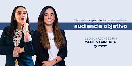 WEBINAR GRATUITO | Explora las segmentaciones de tu audiencia entradas