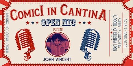 Comici in Cantina: Open Mic biglietti