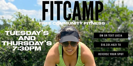 Free Community Fit Camp tickets