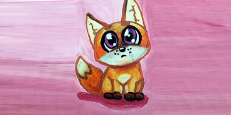 30min How to Draw Pets - Baby Fox @1PM (Ages 5+) tickets