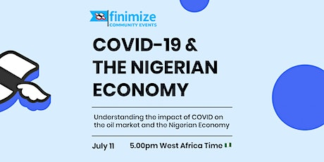 Covid-19 & The Nigerian Economy tickets