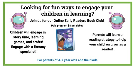 Early Readers Online Book Club tickets