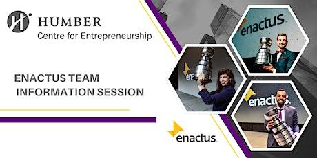 Enactus Team Information Session boletos