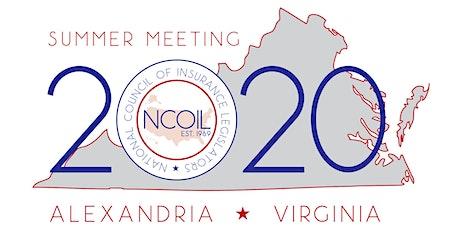 "NCOIL 2020 ""Summer"" Meeting tickets"