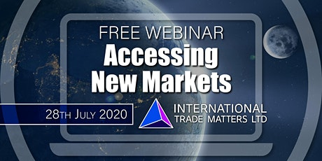 Accessing New Markets tickets
