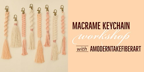 Macrame Keychain Workshop tickets