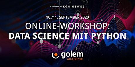 Online-Workshop: Data Science mit Python Tickets