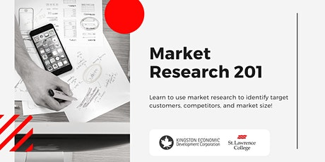 Market Research 201 tickets
